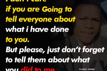 Koollife Kolawole Motivational Quotes – don\'t care if you ...